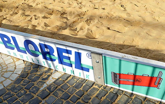 Blobel Brings a Beach Feeling to Augsburg's Town Hall Square
