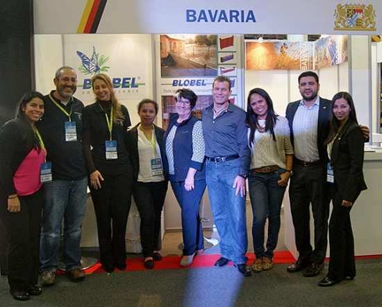 BLOBEL at the 'Expoconstrucción Expodiseño 2015' international trade fair in Colombia